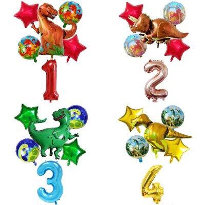 6Pcs/Set Big Dinosaur Foil Balloons Helium Balloon Children Birthday Party - Dinosaur Birthday