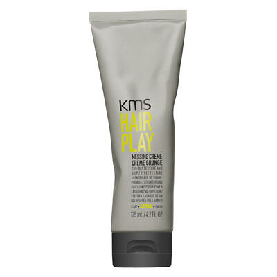 Texture Styling Creme ((17,12/100ml) KMS HAIRPLAY Messing Creme 125ml - California Stylingcreme Textur)