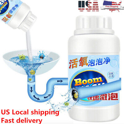 Powerful Sink Drain Cleaner Portable Powder Cleaning Tool Super Clog Remover Usa