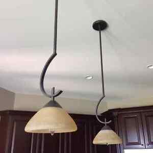 KICHLER chandelier, foyer and pendant lights  like new London Ontario image 6