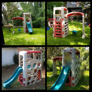 Step 2 play structure with swing EUC