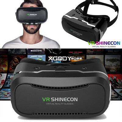VR BOX 2.0 Virtual Reality Headset 3D Glasses for Samsung S8 Note7 Iphone7 Plus