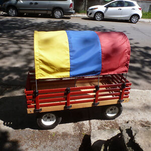 Huge Fun Sturdy Solid Child Wagon (Chariot Enfant)