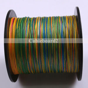100m 8 Strands Color 10 300lb Saltwater Spectra Braided Pe