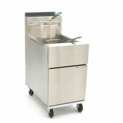 Frymaster Sr152g Dean 50lb Gas Deep Fryer W 6 Adjustable Legs 120000 Btus
