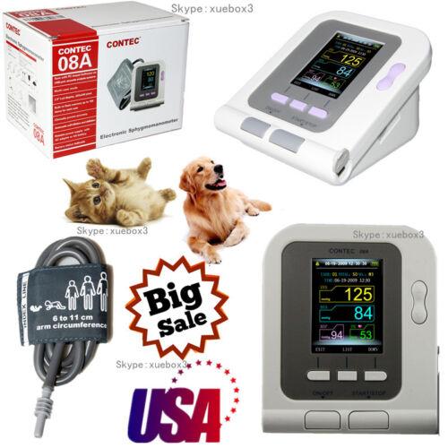 Contec08a-vet Digital Blood Pressure Monitor,veterinary/vet/animal Nibp 6-11cuff