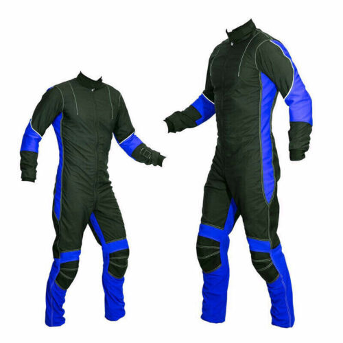 Latest Design Skydiving suit Navy Blue