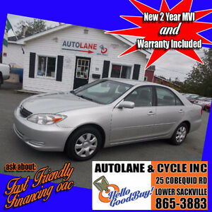 Reliabilty & Value~ 2002 Toyota Camry LE ~4 Cyl 5 speed~ $3895