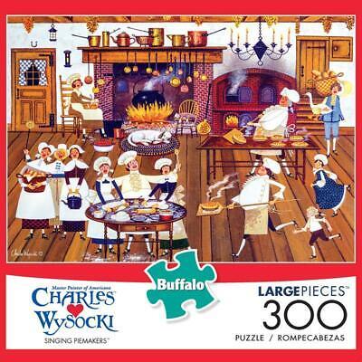 jigsaw puzzle singing pie makers charles wysocki