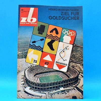 DDR Zeit im Bild ZB NBI 42/1968 Zirkus Busch Olympia DEFA-Studio Kaninchenzucht