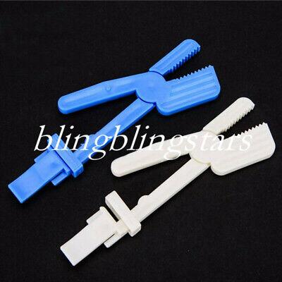 1 Pcs Dental Plastic X-ray Film Clamp Radiograph Holder Clip Supply Snap Option