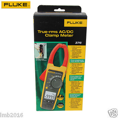New Fluke 376 True-rms Acdc Clamp Meter With Iflex