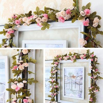 se Blume Ranke hängende Girlande Hochzeit Party Dekoration DE (Party Hängende Dekorationen)
