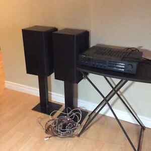 Rotel Stereo AM-FM Receiver and a Pair of Celestion Speakers