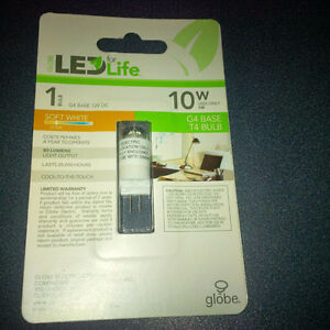 LED G4 Base T4 Bulbs - Brand New Never Used