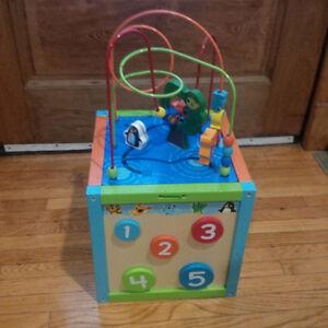 Kid's Activity Cube