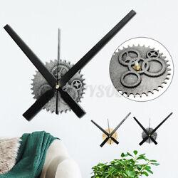 Vintage DIY Clock Mechanism 11.8'' Hand Movement Retro Gear Wall Clock   -/