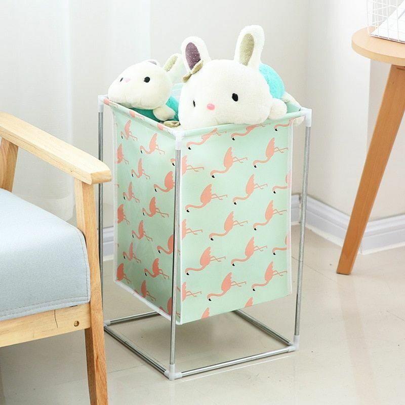 Laundry Basket Large Foldable Waterproof Bathroom Dirty Clot