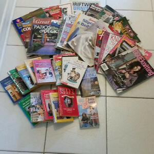 Novels, Books, How to Magazines