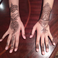 Henna Tattoo Artist - Red and Black Henna Available