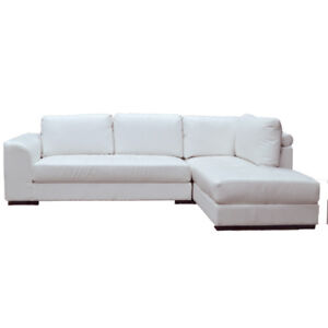 FALL SEASON SALE!! Comfy Leather Sectional available in Black