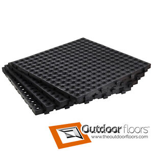 Garage Flooring Interlocking Heavy-Duty Floor Tiles
