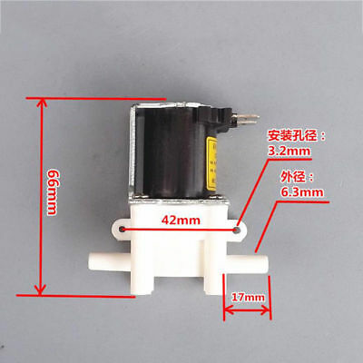 Dc 24v Mini Electric Solenoid Valve Normally Closed For Air Water Valve Switch