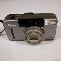 Film Camera: Canon Sure Shot Z115 with 38 to 115 zoom