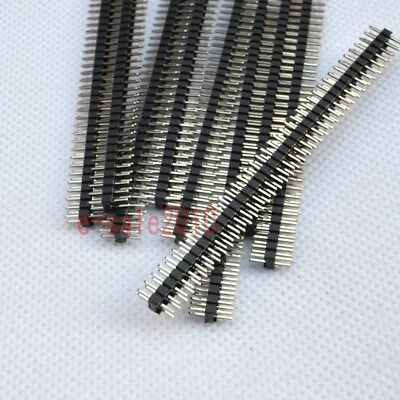 10pcs Rohs 2x40 2.0mm Pin Header Double Row Male For Dip Pcb Board Convert G31