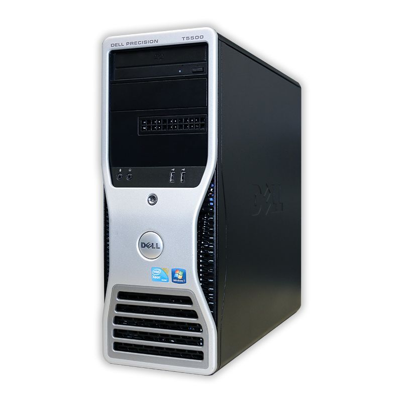 Dell T5500 Computer 2.8ghz 12 Cores 24gb Ram 512gb Ssd Geforce Gtx 1050 Ti 4gb