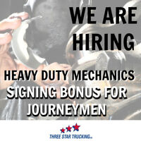 Heavy Duty Mechanic - Signing Bonus for Journeymen