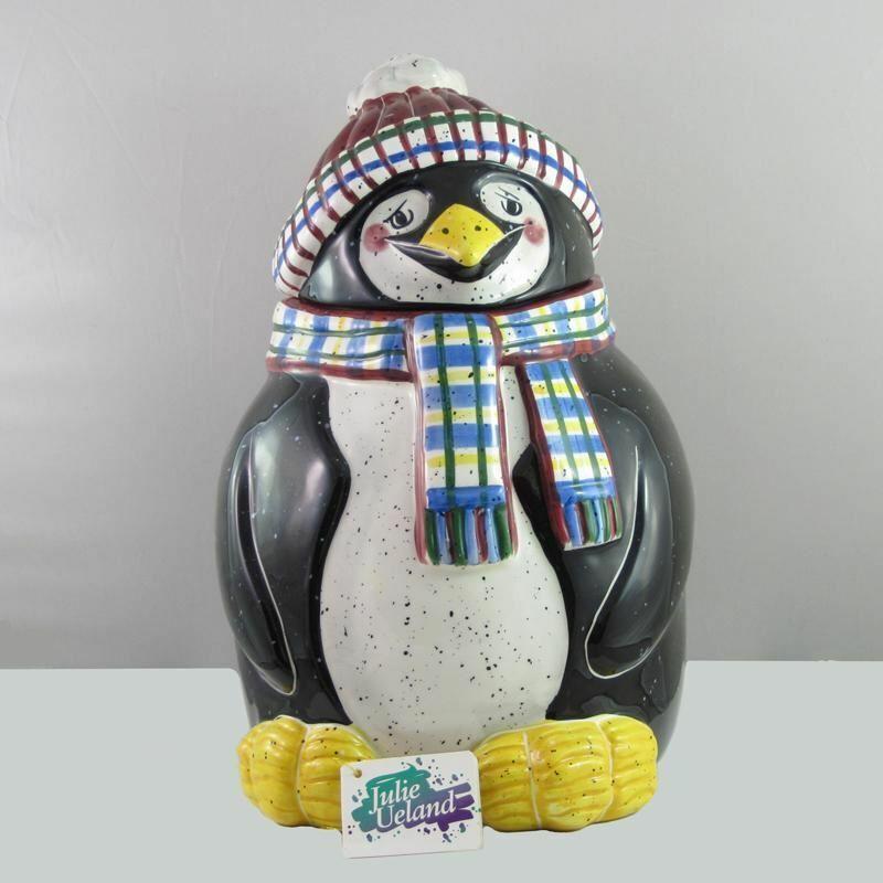 Julie Ueland Penguin Cookie Jar-746614