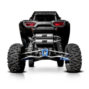 Polaris RZR XP Turbo Exhaust System from HMF - CLEARANCE PRICE!!