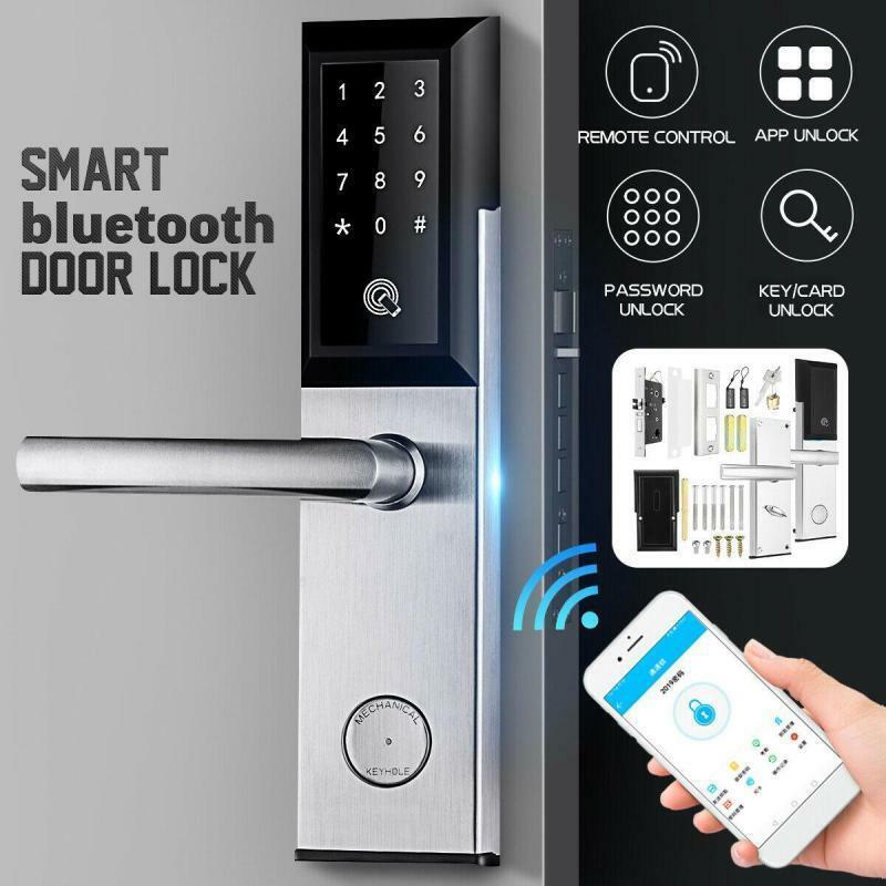 Intelligentes Elektronisches Türschloss Smart APP Tastatur Schlüsselloses Links