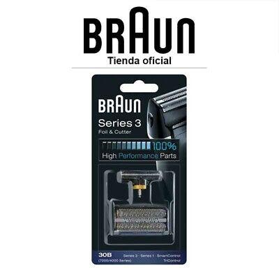 Recambio para afeitadora eléctrica Braun 30B - Para modelo Series 3, Series...