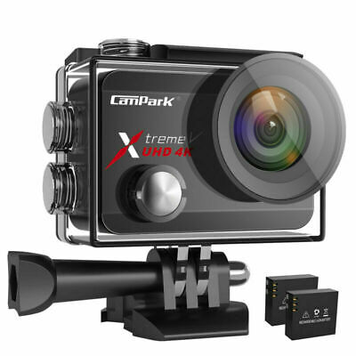 Campark X30 Action Sports Camera WiFi 20MP Video Touch Underwater 40M Camcorder