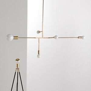 New Modern Gold Chandelier Pendant Light Fixture Lighting