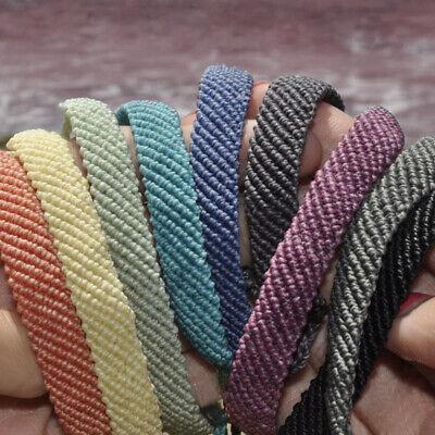 Women Handmade Weave Waterproof Woven Rope Wax String Bracelet Jewellery Fashion](Woven Bracelet)