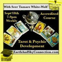 Tarot & Psychic Development with Tamare White-Wolf