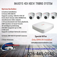 Security Camera & Wireless Alarm Installations