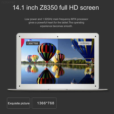 43EE 14.1 Inch 64G quad core Laptop Netbook win 10 Computer Notebook HDMI Wifi