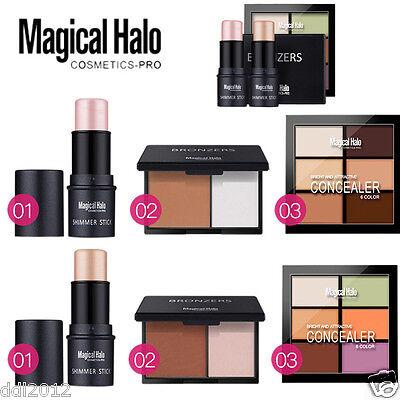 Pro Concealer Palette Contour Cream Palette Shimmer Highlighter Stick Makeup Set