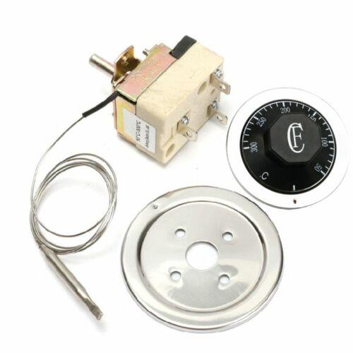 Temperature Controller Thermostat Switch Thermostat Knob Adj