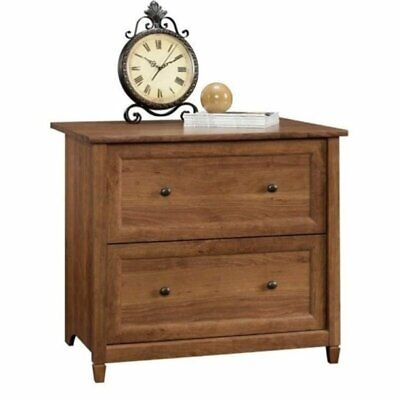 Bowery Hill 2 Drawer File Cabinet In Auburn Cherry