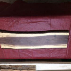 New live edge  black walnut charcuterie or other