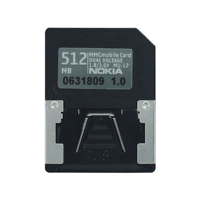 - Dual Voltage 512MB RS-MMC Mobile MultiMedia Card 13pins RS MMC Card 512mb