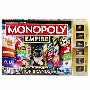 2015 Monopoly Empire- Fast, fun gameplay--GOLD TOKENS