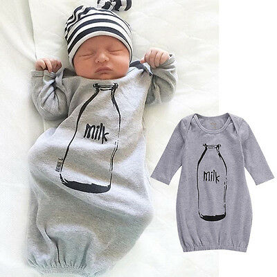 Newborn Infant Baby Boys Clothes Romper Bodysuit Sleeping Bag Sleepsack - Baby Boys Sleeping Bags