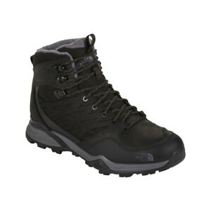 The North Face Mens Hedgehog Hiking Boots Black Leather Size 13