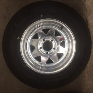 205/75R15 NEW GALVANIZED WHEELS & TIRES London Ontario image 1